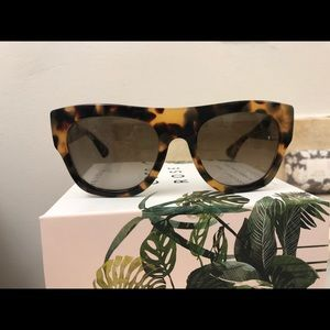MIU MIU Tortoiseshell Colored Sunglasses